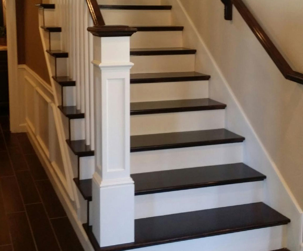 Wonderful Custom Designed U0026 Manufactured Solid Wood Treads