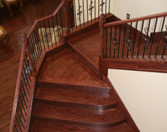 Custom Solid Wood Stair Treads