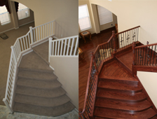 Amazing Stair Remodel